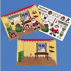 Make-A-Santa's Workshop Sticker Sheets