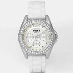 Riley - White Silicone Multifunction Watch