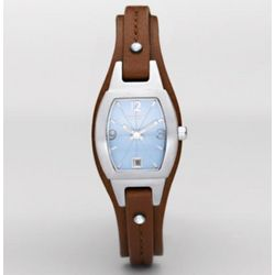 Casual Slim Cuff Leather Watch