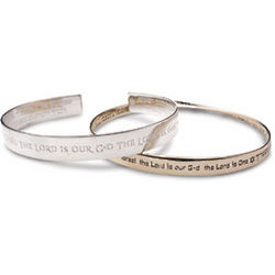 Sterling Silver Man's Cuff Bracelet