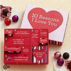 10 Reasons I Love You Truffle Box