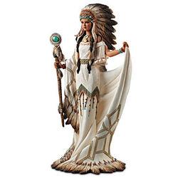 Heart of a Great Spirit Native American Sculpture