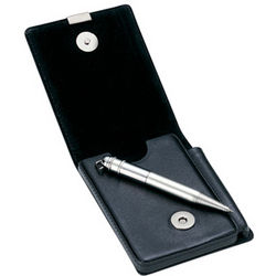 Personalized Business Card Case and Pen Holder