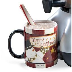 Snowman Merry Christmas Ceramic Coffee Mug