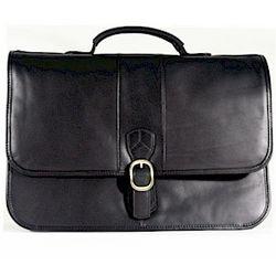 Leather Organizer Briefcase