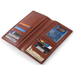 Italian Leather Coat Pocket Wallet