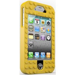 Yellow TinkerBrick Case for iPhone 4/4S