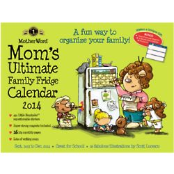 Mom's Ultimate Family Fridge 2014 Calendar