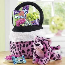 Cheetah Purse with Snacks