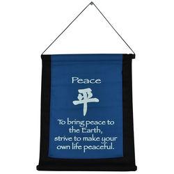 Peace Mini Zen Wall Hanging
