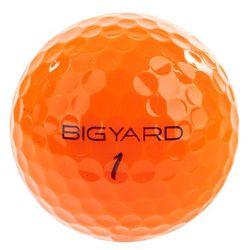 GD Personalized Orange Golf Balls