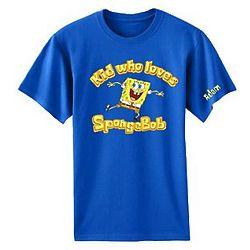 Personalized SpongeKid T-Shirt
