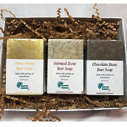 Beer Soap Trio Gift Set