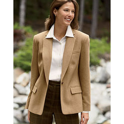 Women's Camel Hair Jacket
