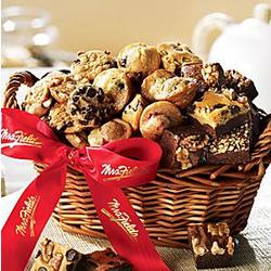Mrs. Fields Delectable Delights Basket
