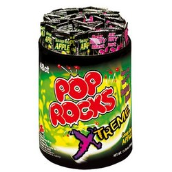 Xtreme Sour Apple & Sour Berry Pop Rocks