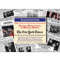 Inaugurations, Washington to Obama New York Times Compilation