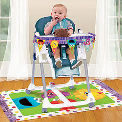 Sesame Street First Birthday High Chair Decorating Kit