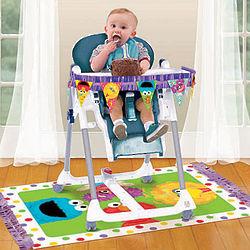 Sesame Street First Birthday High Chair Decorating Kit