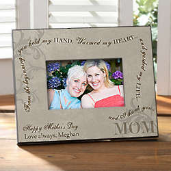 Personalized Picture Frame for Mom