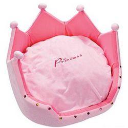 Plush Princess Pet Bed