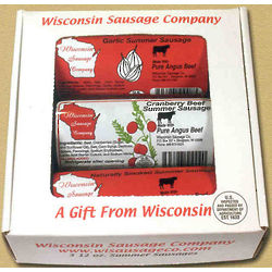 Wisconsin Angus Beef Sausage Gift Box