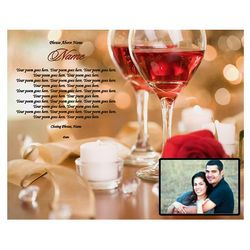 Design Your Own Romantic Poem Print