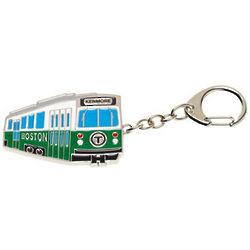 Boston Green Line Bus Key Chain