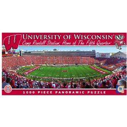 University of Wisconsin Stadium Panoramic Puzzle