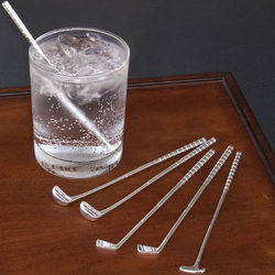 Golf Club Cocktail Stir Stick Set