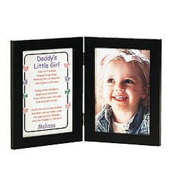 Daddy's Little Girl 5x7 Print and Frame