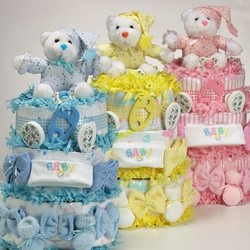 Sweet Baby Cakes Gift Basket