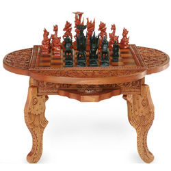 Paradise Wooden Chess Set