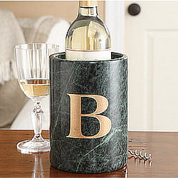 Marble Wine Chiller with Monogram