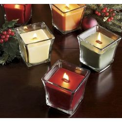 Crackling Flame Candle