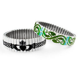 Celtic Knotwork Stretch Bracelet