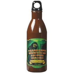 Sasquatch Seltzer Creepy Water Bottle