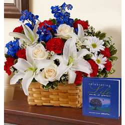 Celebrating Life Sympathy Bouquet
