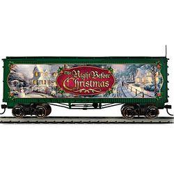 Thomas Kinkade Night Before Christmas Train Box Car