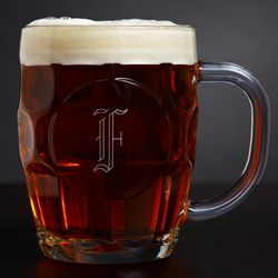 Personalized Britannia Dimple Beer Mug