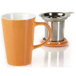 Orange Angle Infuser Mug