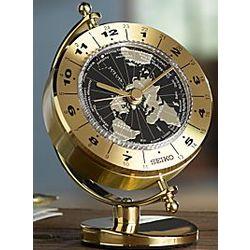 Seiko Globe World Time Clock