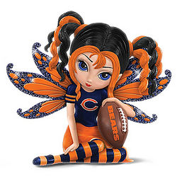 Little Bit of Magic Chicago Bears Fairy Figurine