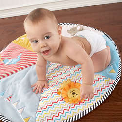 Baby's Big Top Tummy Time Circus Playmat