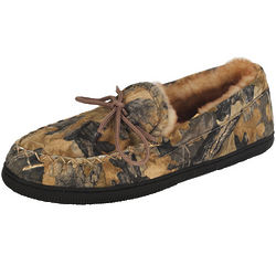 Men's Camouflage Moccasin Slippers