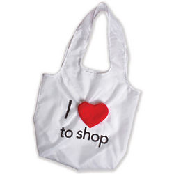 I Heart to Shop Reusable Bag