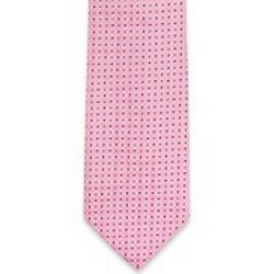 Geometric Diamonds Woven Silk Tie