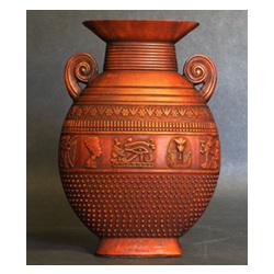 Decorative Egyptian Motif Vase