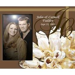 Personalized Tulips Picture Frame