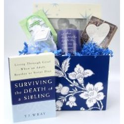 Ladies Loss of a Sibling Sympathy Basket